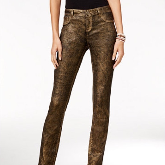 INC International Concepts Denim - 🎉New INC International Concepts Gold Tone Jeans